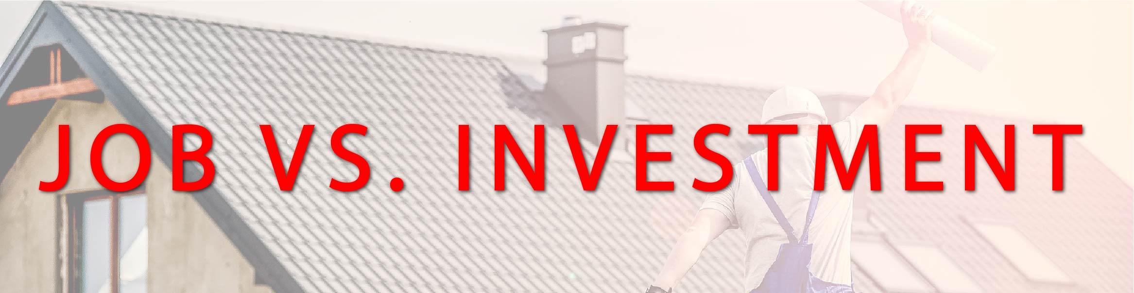 Job VS. Investment - Cogo Capital