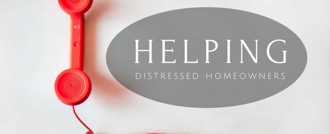 Helping Distressed Homeowners - Cogo Capital