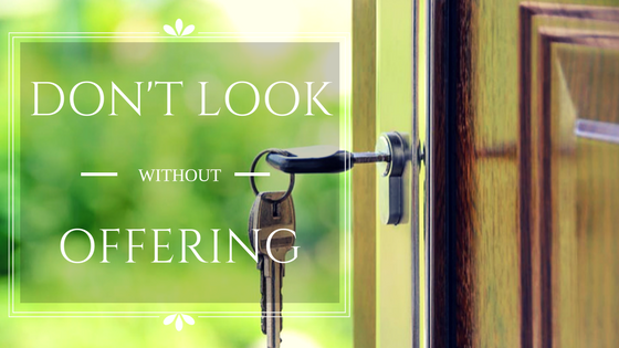 Dont Look Without Offering - Cogo Capital