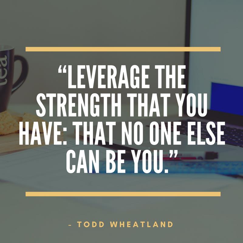 Todd Wheatland Quote - Cogo Capital