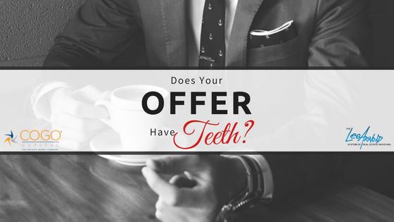 Offer Have Teeth - Cogo Capital