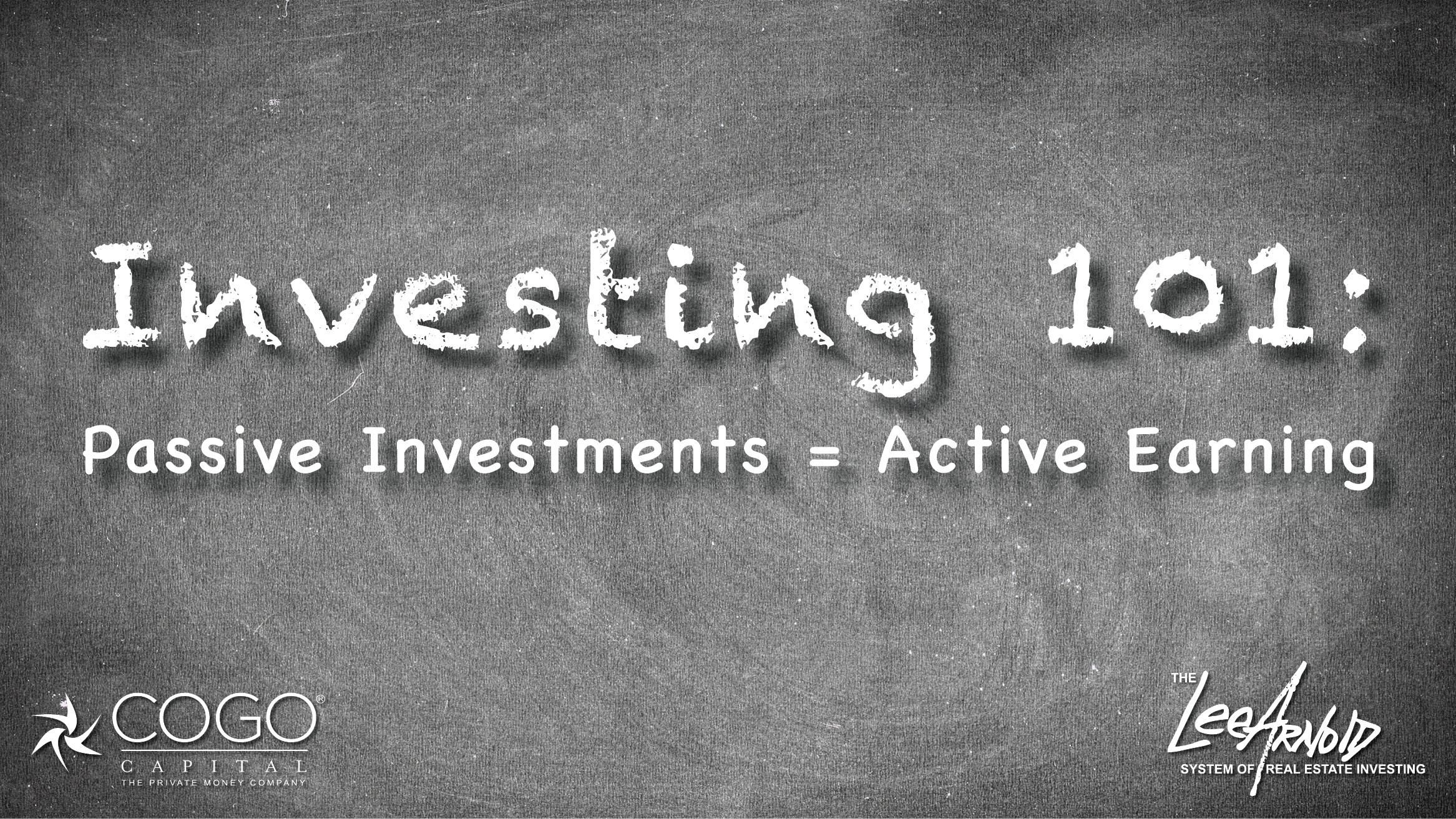 Investing 101 - Cogo Capital