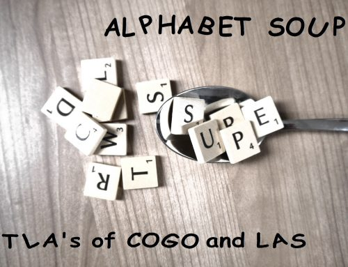 Alphabet Soup The Three Letter Acronyms of COGO and LAS