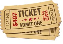 Ticket Admit One - Cogo Capital