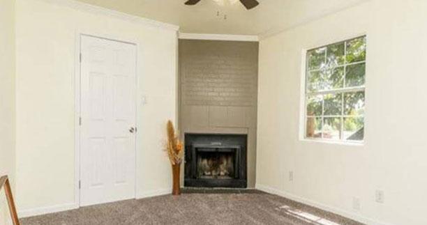 After - Living Room - Fix & Flip - Farmersville, TX