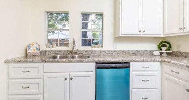 After - Kitchen - Fix & Flip - Farmersville, TX