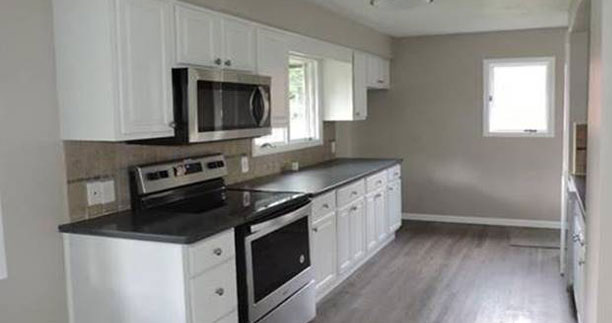 After - Kitchen - Fix & Flip - Niagra Falls, NY