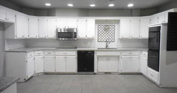 Before - Kitchen - Fix & Flip - Yukon, OK