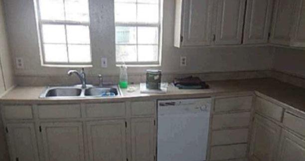 Before - Kitchen - Fix & Flip - Farmersville, TX