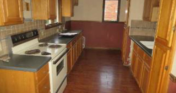 Before - Kitchen - Fix & Flip - Niagra Falls, NY