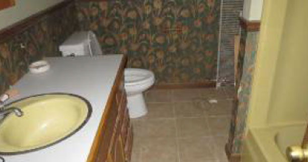 Before - Bathroom - Fix & Flip - Niagra Falls, NY